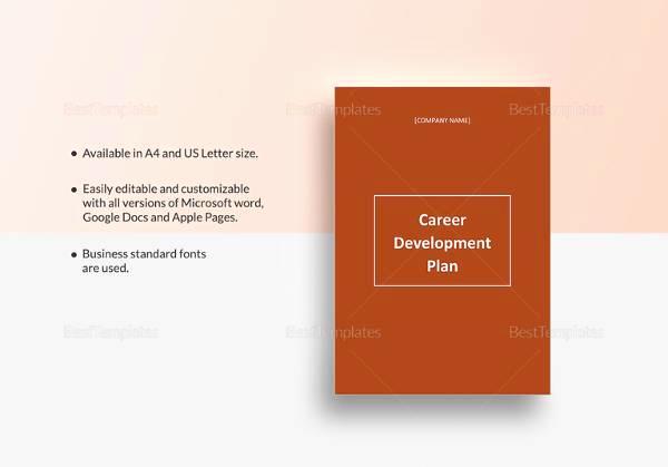 Career Development Plan Template Lovely Sample Career Plan 11 Documents In Pdf Word
