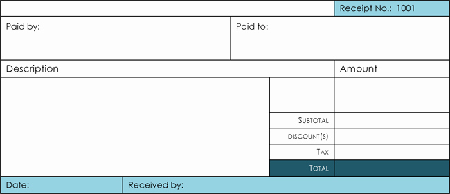 Cash Receipt Template Word Lovely 17 Free Cash Receipt Templates for Excel Word and Pdf