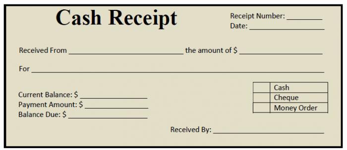 Cash Receipt Template Word Luxury 50 Free Receipt Templates Cash Sales Donation Taxi