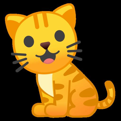 Cat Emoji Copy and Paste Elegant Cat Emoji