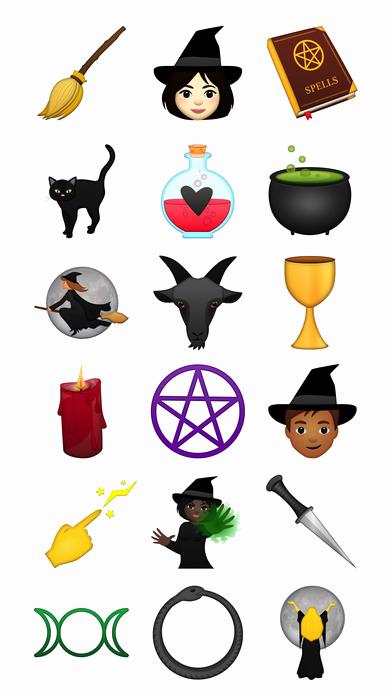Cat Emoji Copy and Paste Elegant the Spooky Vegan Witch Emoji App
