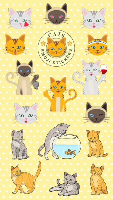 Cat Emoji Copy and Paste Inspirational Cats Emoji Sticker Pack for Cat Lovers App Download