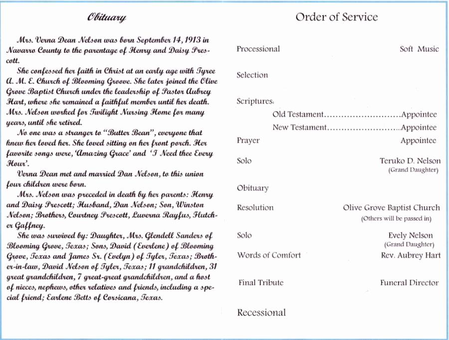 Catholic Funeral Mass Program Beautiful 29 Of Catholic Obituary Template