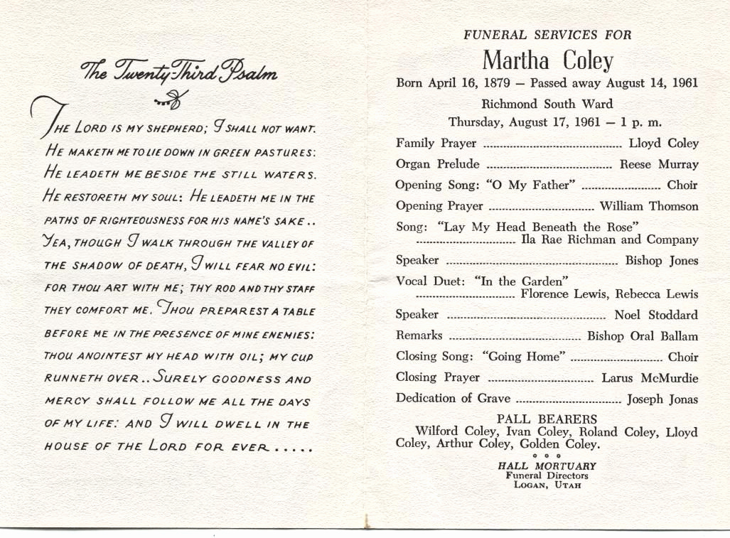 Catholic Funeral Mass Program Lovely Memorial Service Program Examples Google Search