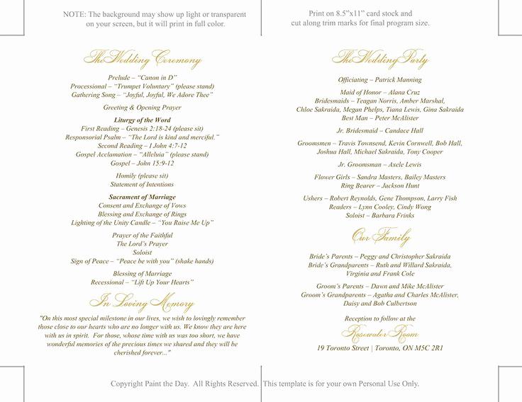Catholic Funeral Mass Program Luxury Best 25 Catholic Wedding Programs Ideas On Pinterest