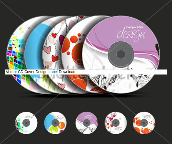 Cd Cover Design Template Awesome Cd Label Template – 22 Free Psd Eps Ai Illustrator