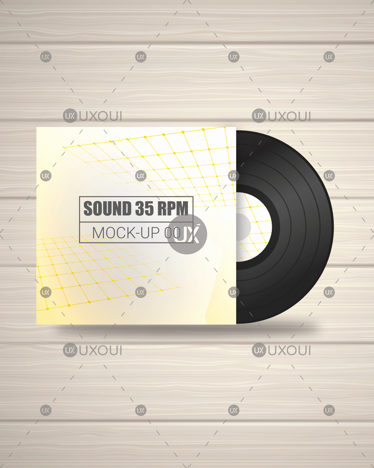 Cd Cover Design Template Beautiful Abstract Album Cd Cover Design Template Vector with Black