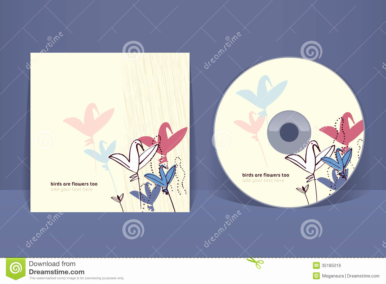 Cd Cover Design Template Fresh Cd Cover Design Template Royalty Free Stock Image