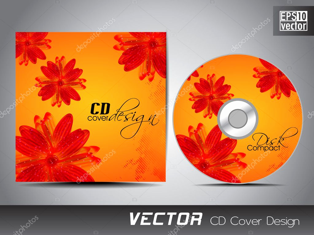 Cd Cover Design Template Fresh Cd Cover Presentation Design Template with Copy Space and