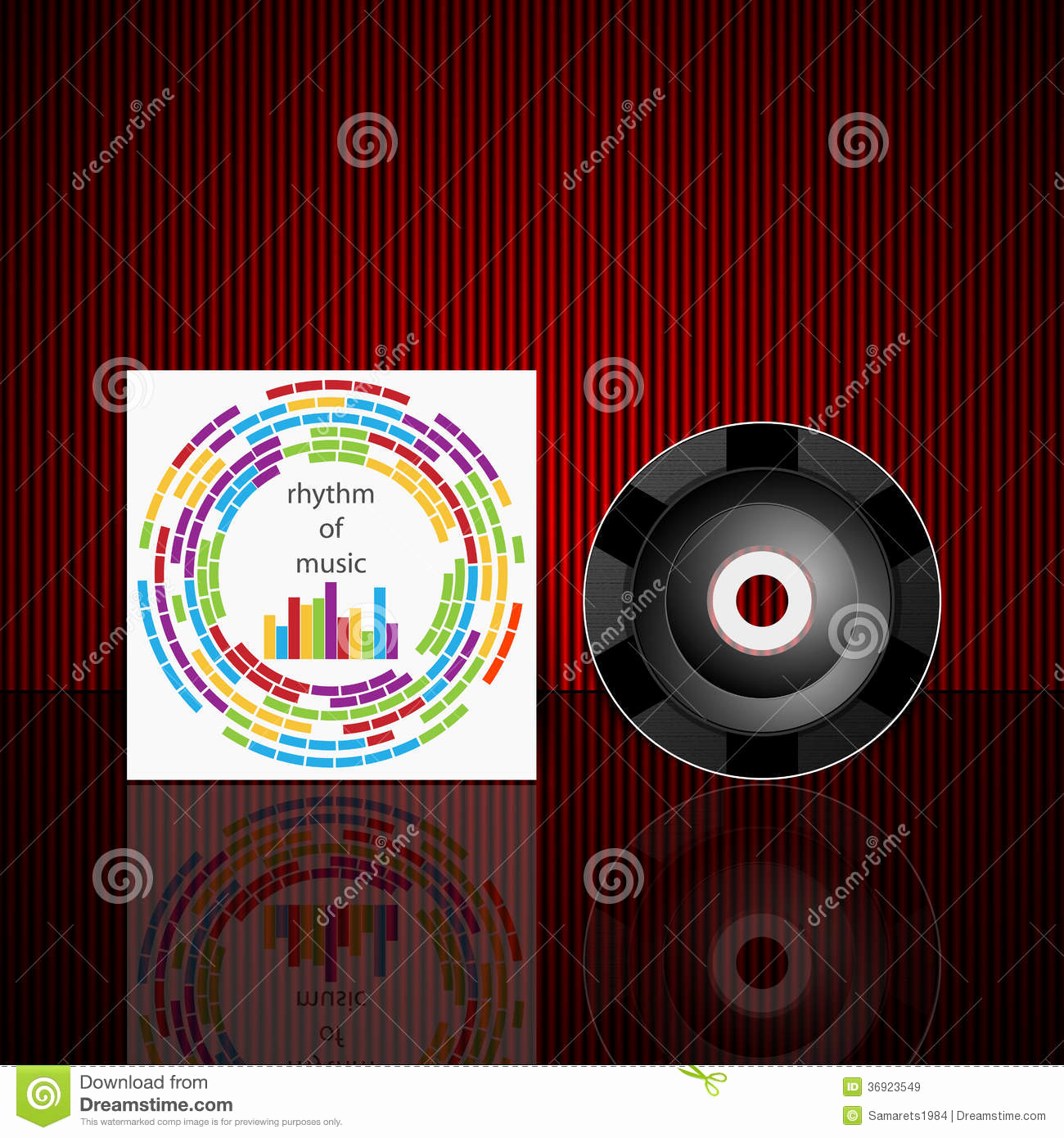 Cd Cover Design Template Unique Vector Cd Cover Design Template Royalty Free Stock