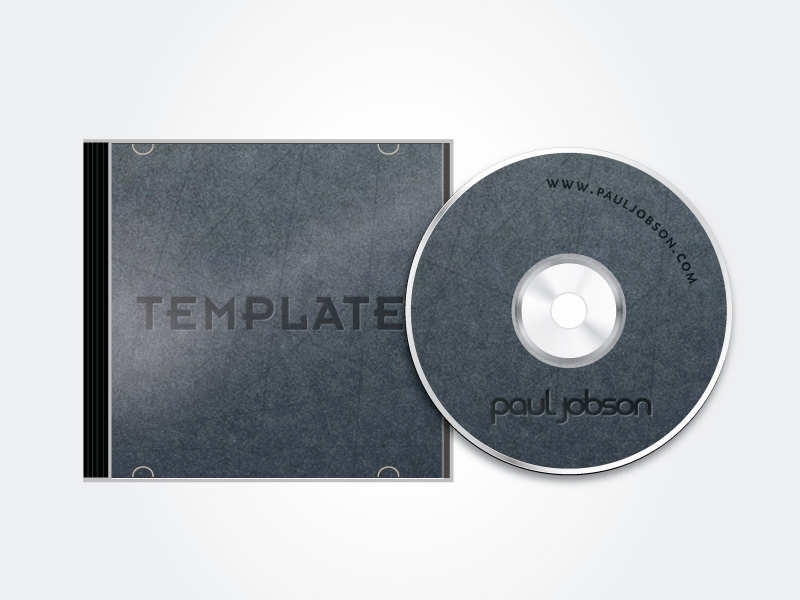 Cd Cover Template Photoshop Beautiful Vector Cd and Cd Case Template by Pauljobson On Deviantart