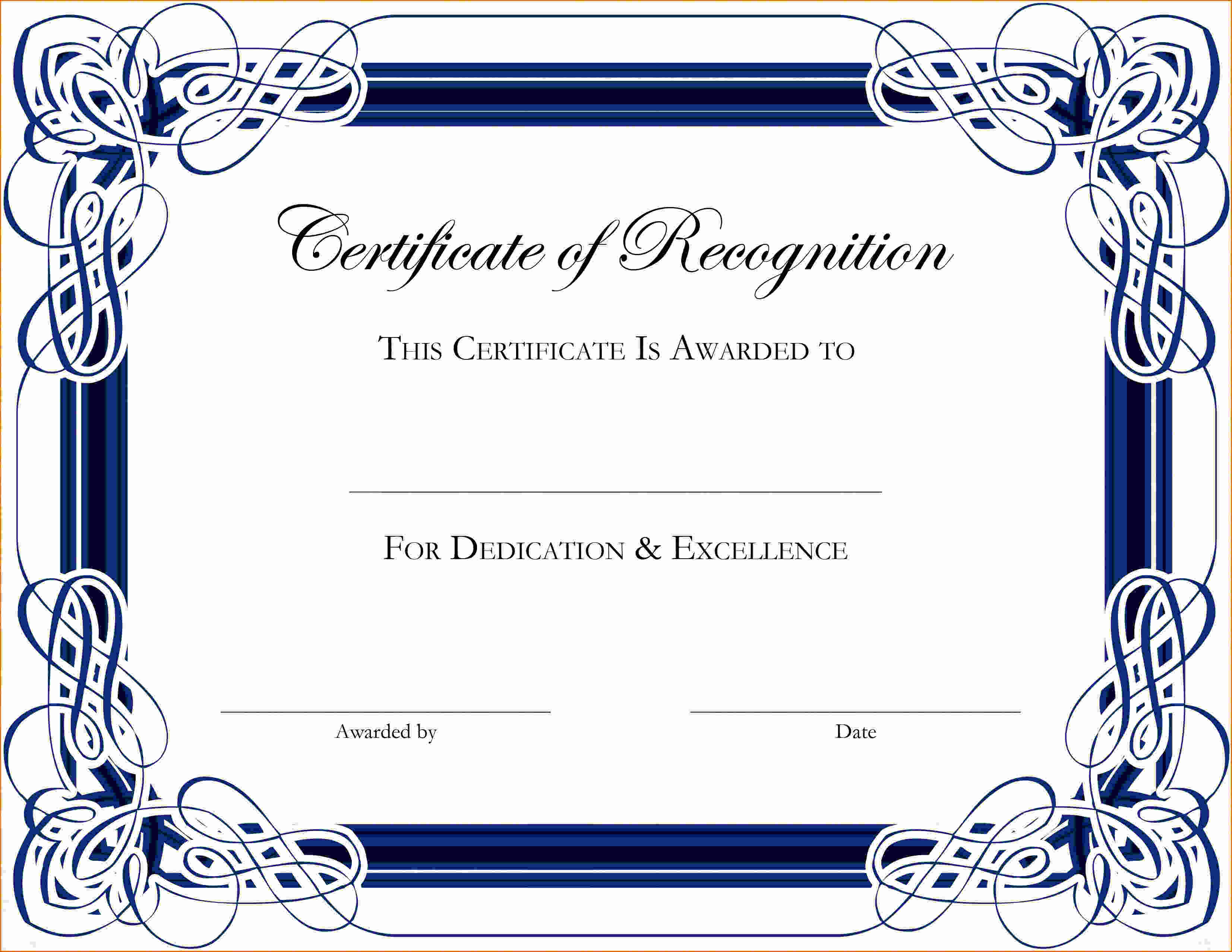 Certificate Of Appreciation Template Word Beautiful 5 Certificate Of Appreciation Template Word