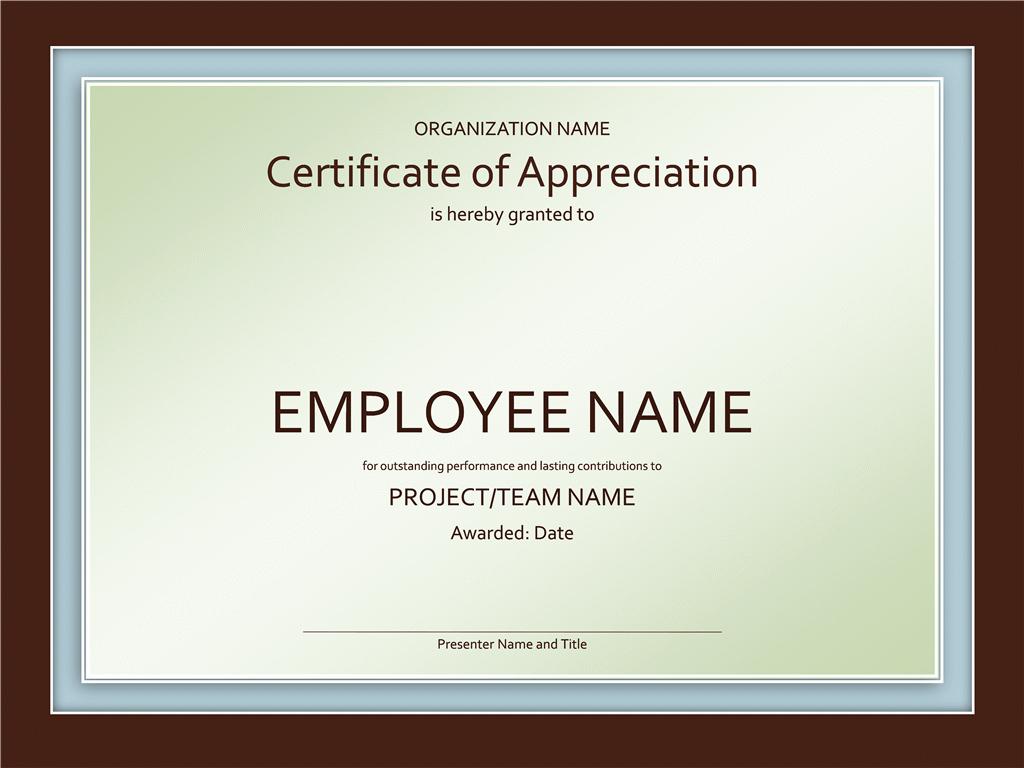 Certificate Of Appreciation Wording Beautiful Certificates Fice