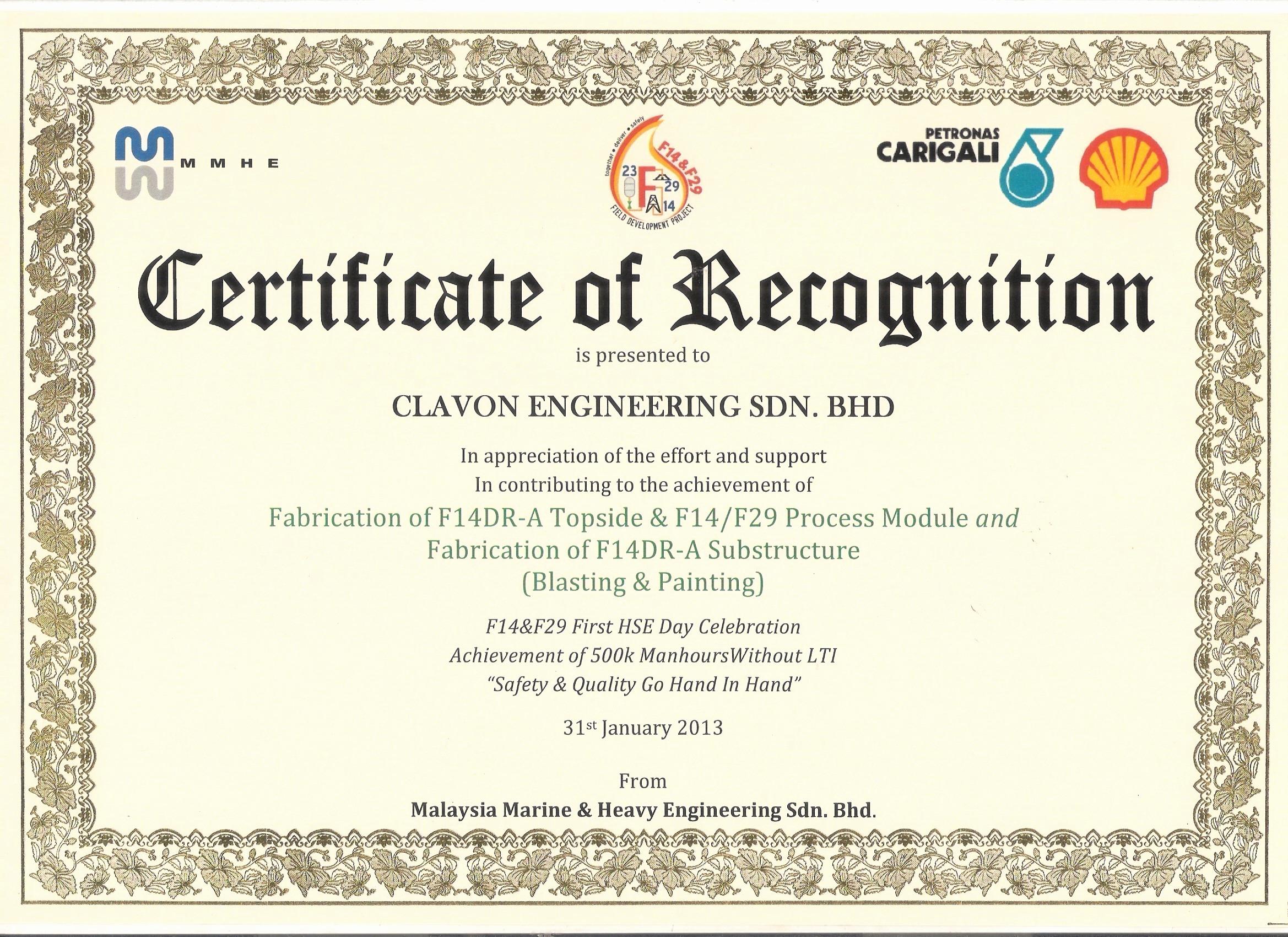 Certificate Of Appreciation Wording Best Of 12 13 Certificates Of Achievement Wording