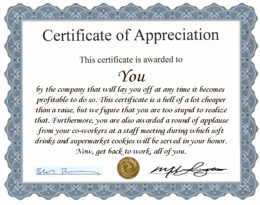 Certificate Of Appreciation Wording Elegant Employee Award Quotes Quotesgram