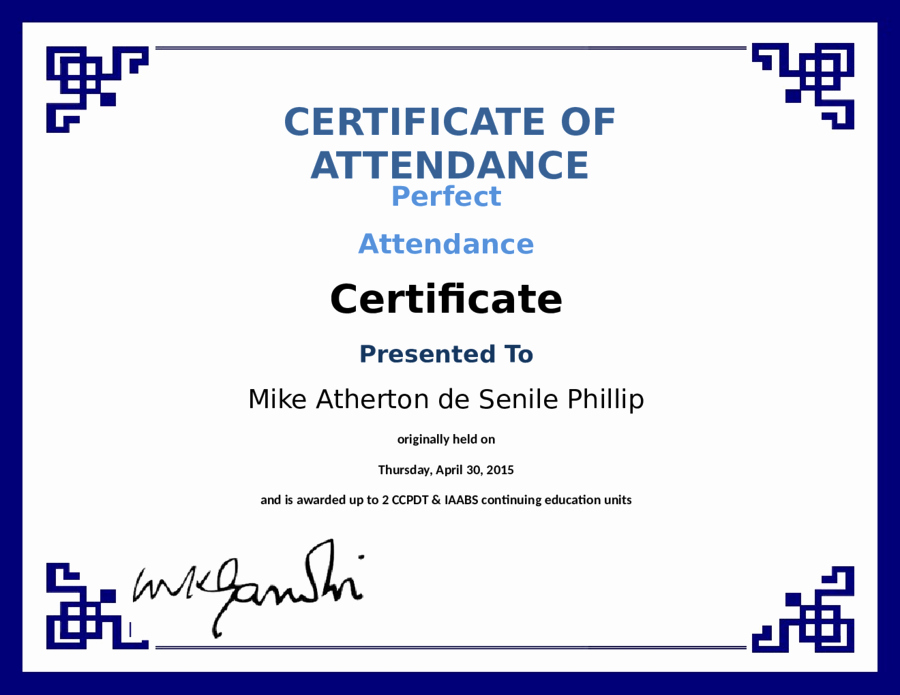 Certificate Of attendance Template Inspirational 2019 Certificate Of attendance Fillable Printable Pdf