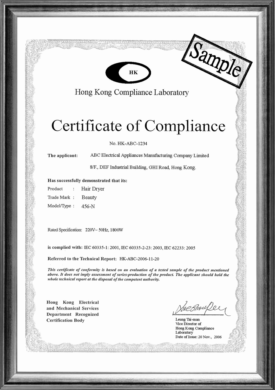 Certificate Of Compliance Template Elegant 15th issue October 2009 530