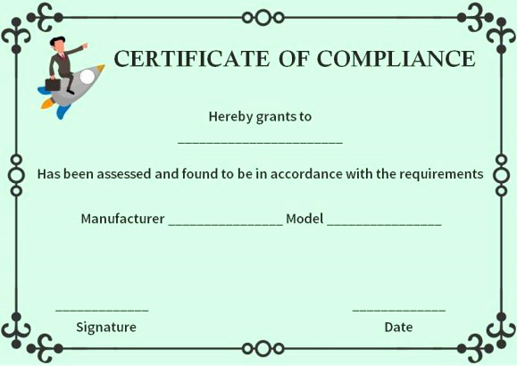 Certificate Of Compliance Template Elegant 16 Best Certificate Of Pliance Images On Pinterest