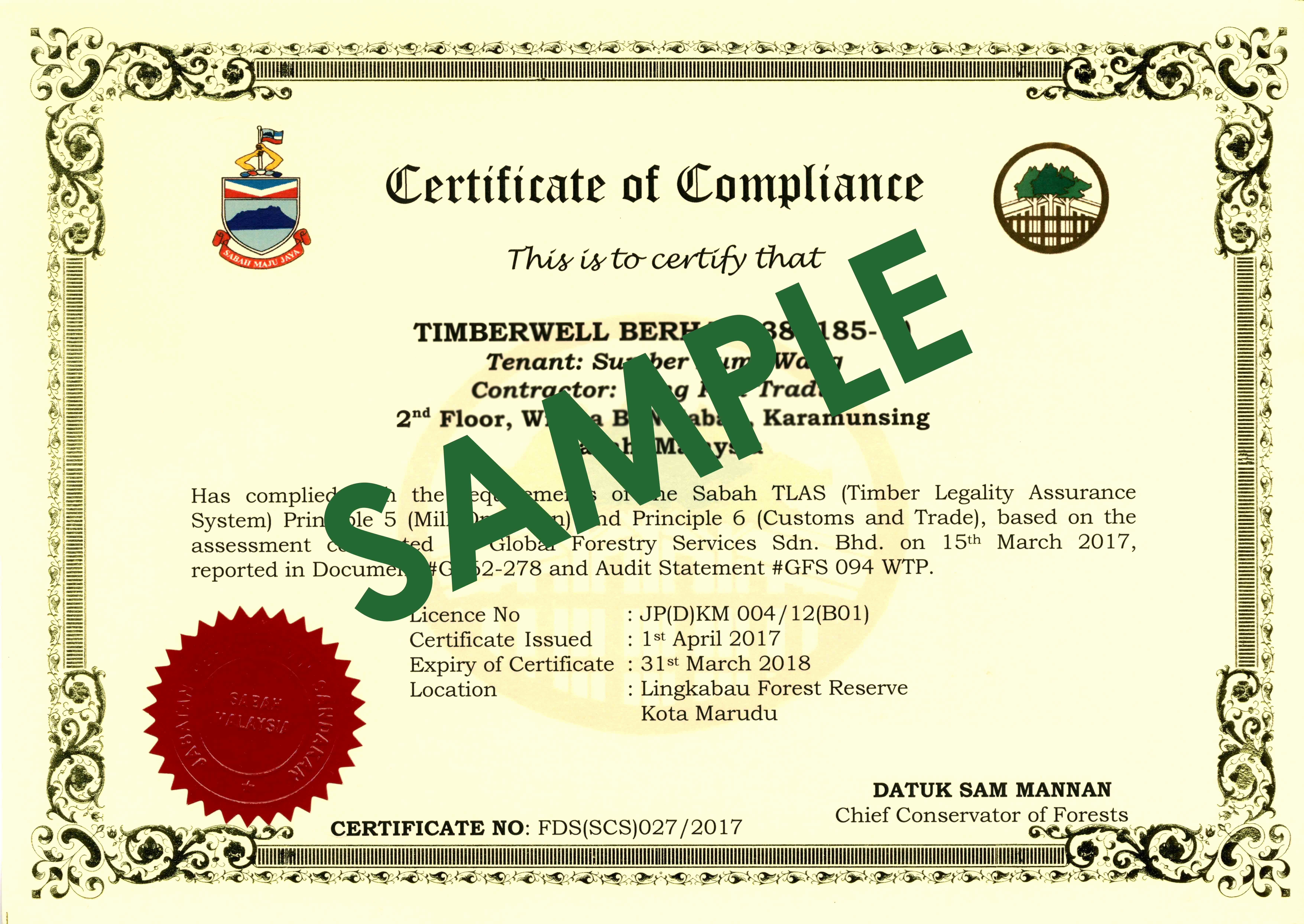 Certificate Of Compliance Template Fresh Certificate Of Pliance