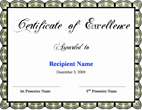 Certificate Of Excellence Template Beautiful Reiki Certificate Templates to Download