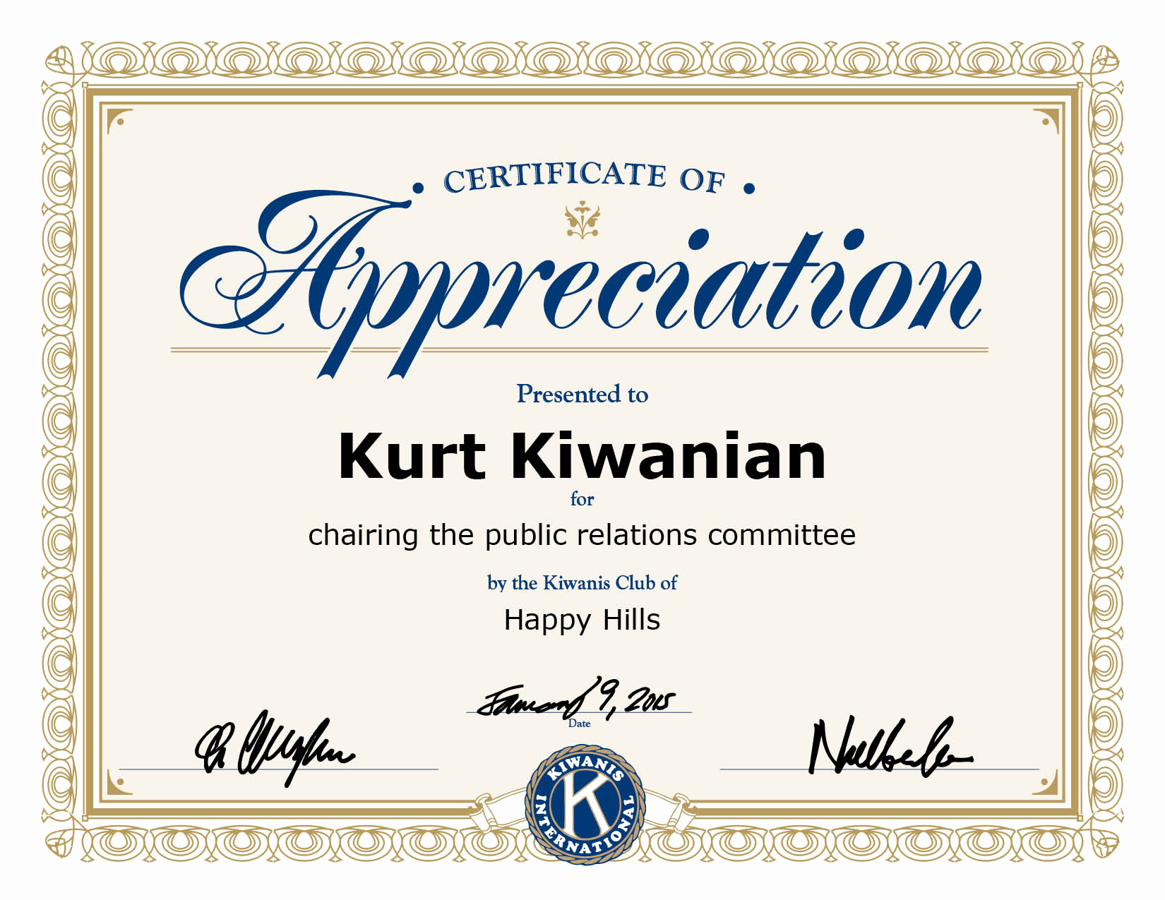 Certificate Of Recognition Template Unique Certificate Appreciation Template