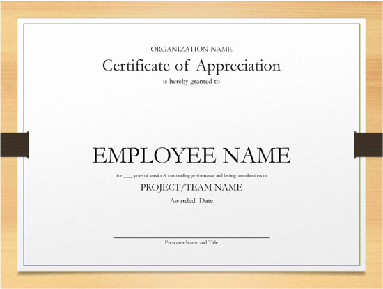 Certificate Of Service Template Awesome Printable Word and Excel Examples
