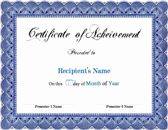 Certificate Templates for Word Best Of Award Certificate Template Microsoft Word Links Service