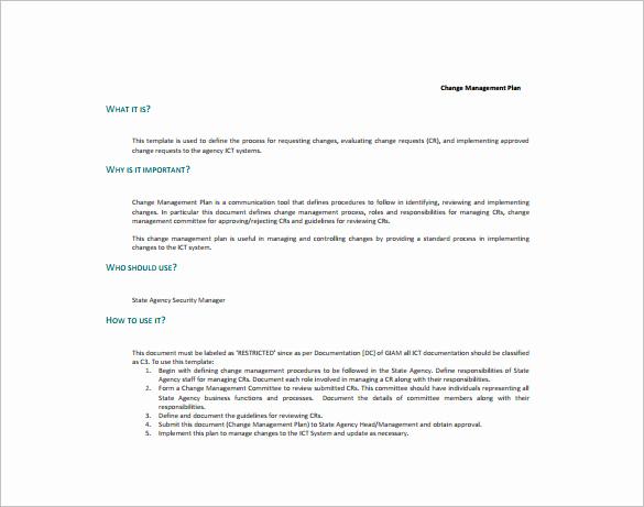 Change Management Plan Template Elegant 26 Of Prosci Munication Plan Template