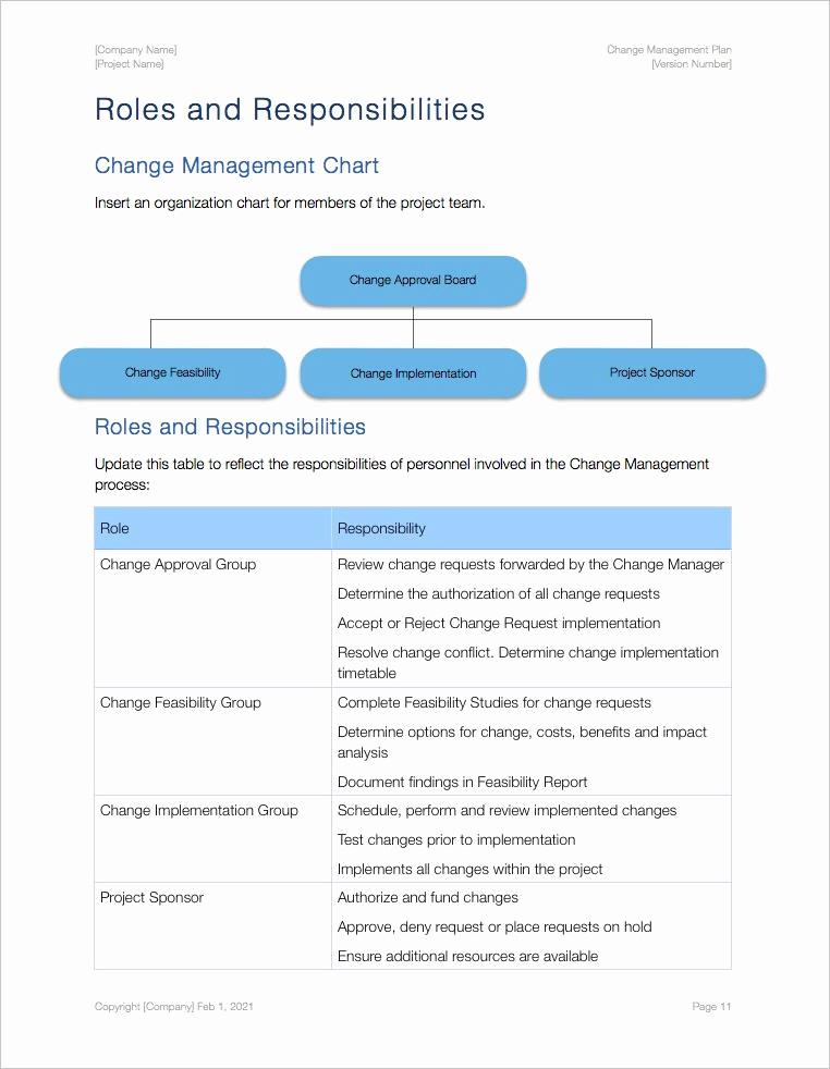 Change Management Plan Template Luxury Change Management Plan Template Apple Iwork Pages