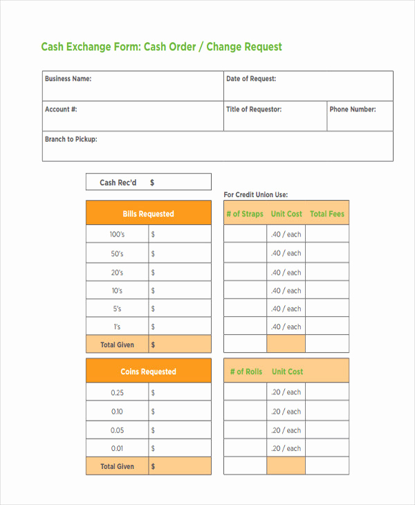 Change order form Template Elegant Change order forms 9 Free Word Pdf format Download