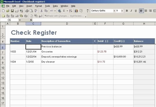 Check Register Template Excel Inspirational Excel Templates for Check Registers Free Programs