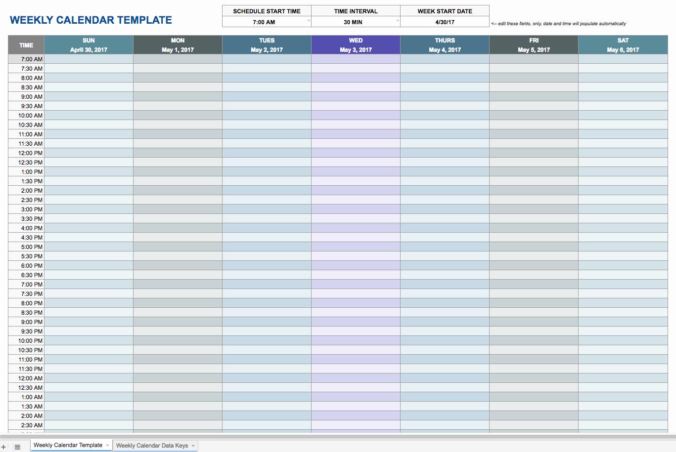Checklist Template Google Docs Fresh Weekly Schedule Template Google Docs