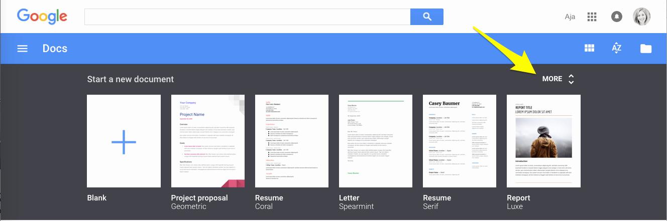Checklist Template Google Docs New Google Docs Template Gallery