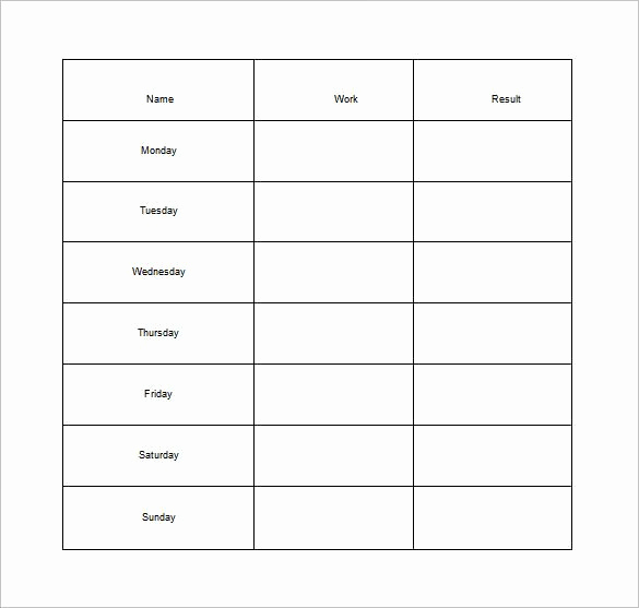 Chore List for Adults Luxury How to Make Good Schedule Using 5 Chore List Template Types