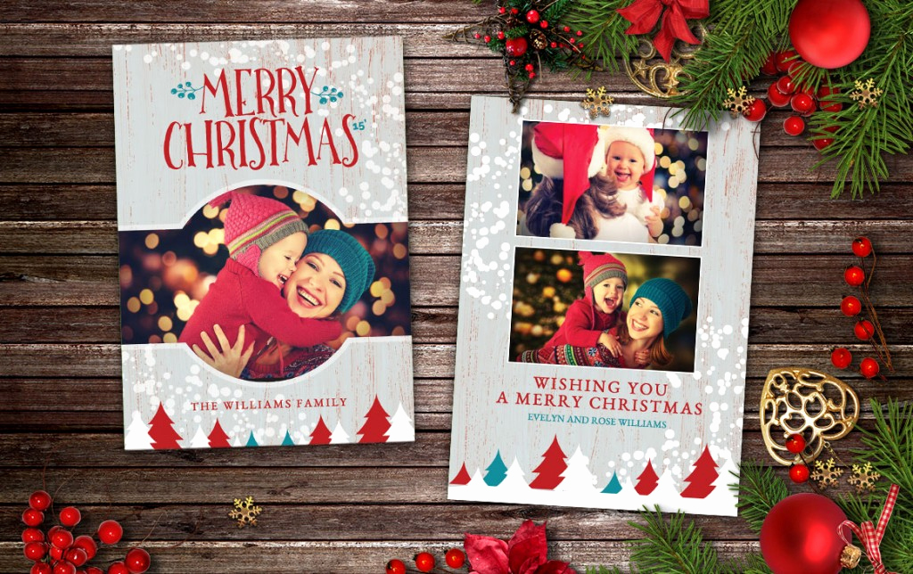 Christmas Card Templates for Photoshop Awesome 18 Postcard Template Shop Ideas