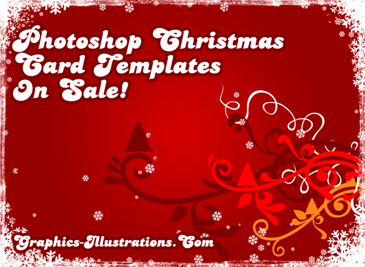 Christmas Card Templates for Photoshop Beautiful Shop Christmas Card Templates Sale
