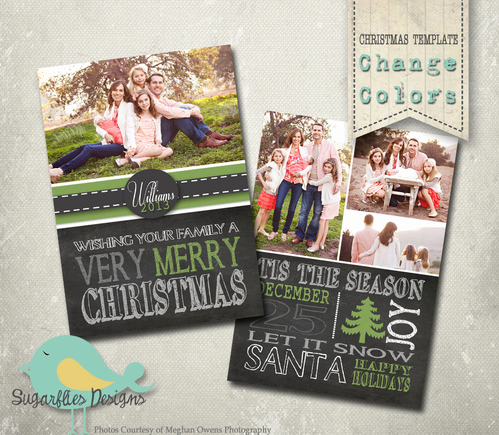 Christmas Card Templates for Photoshop Best Of Christmas Card Photoshop Template Family Christmas Card