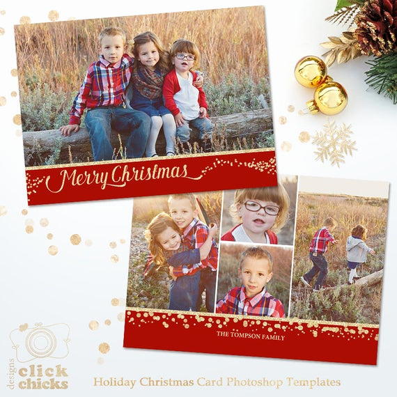 Christmas Card Templates for Photoshop Best Of Items Similar to Holiday Card Template for Graphers