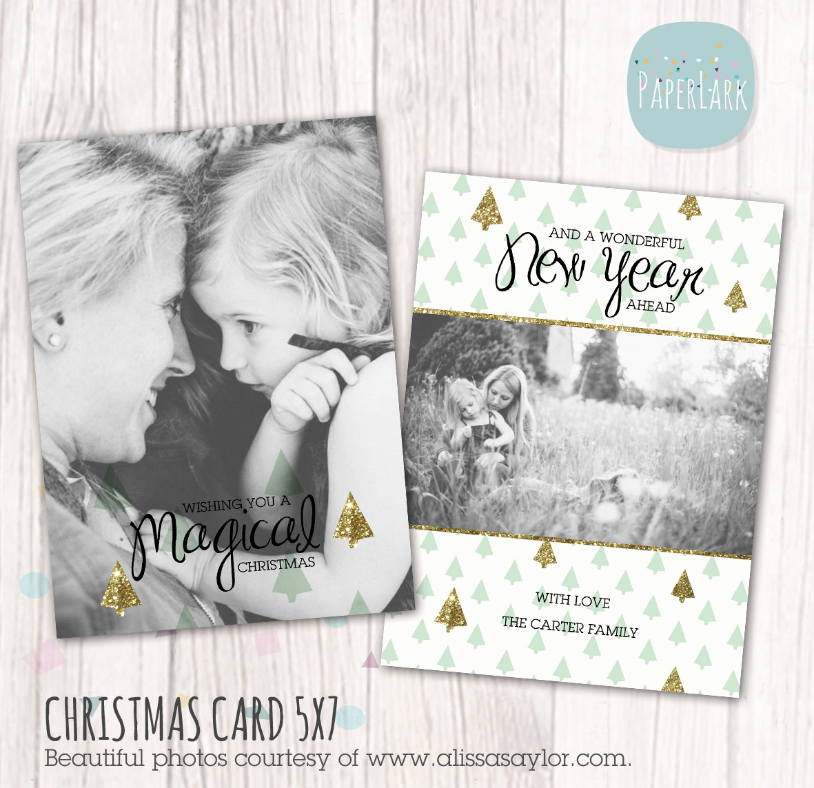 Christmas Card Templates for Photoshop Fresh Christmas Card Template Shop Template Ac016 Instant