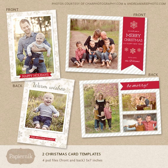 Christmas Card Templates for Photoshop Inspirational Items Similar to Digital Shop Christmas Card Template