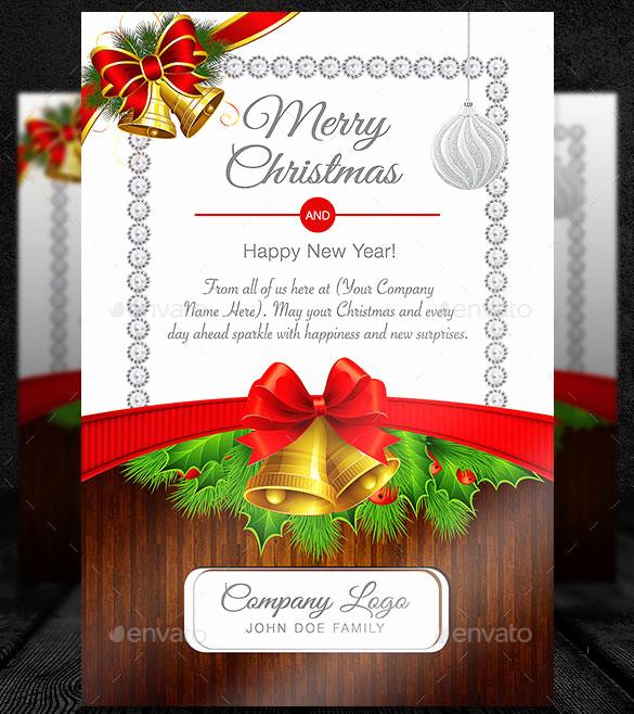 Christmas Card Templates Word Awesome 150 Christmas Card Templates – Free Psd Eps Vector Ai