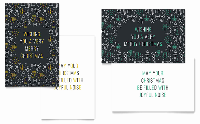 Christmas Card Templates Word Elegant Christmas Wishes Greeting Card Template Word & Publisher
