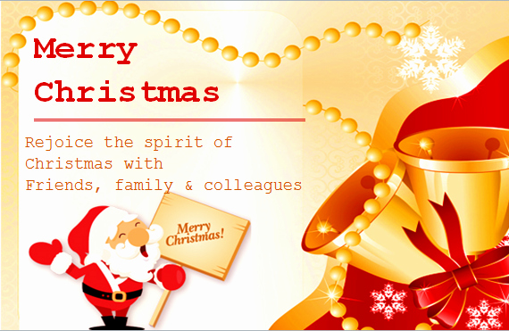 Christmas Card Templates Word Elegant Ms Word Colorful Christmas Card Templates