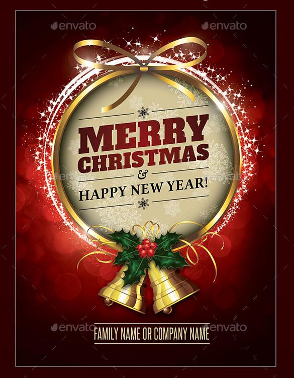 Christmas Card Templates Word Fresh 150 Christmas Card Templates – Free Psd Eps Vector Ai