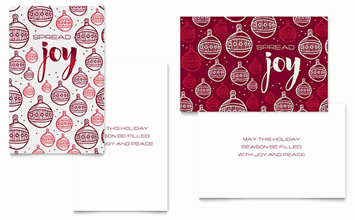 Christmas Card Templates Word Inspirational Free Greeting Card Template Download Word & Publisher