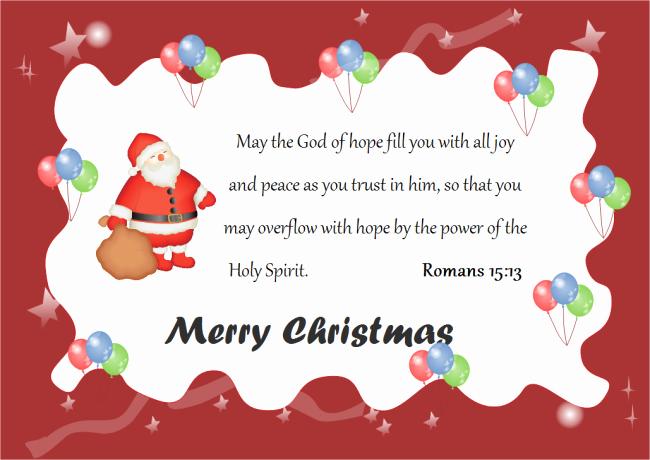 Christmas Card Templates Word New Christmas Card God Words