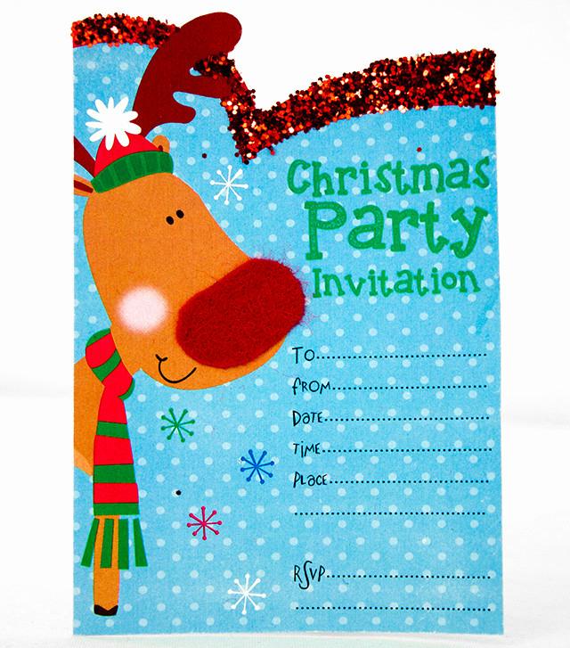 Christmas Party Invitations Free New Free Printable Christmas Invitation Templates