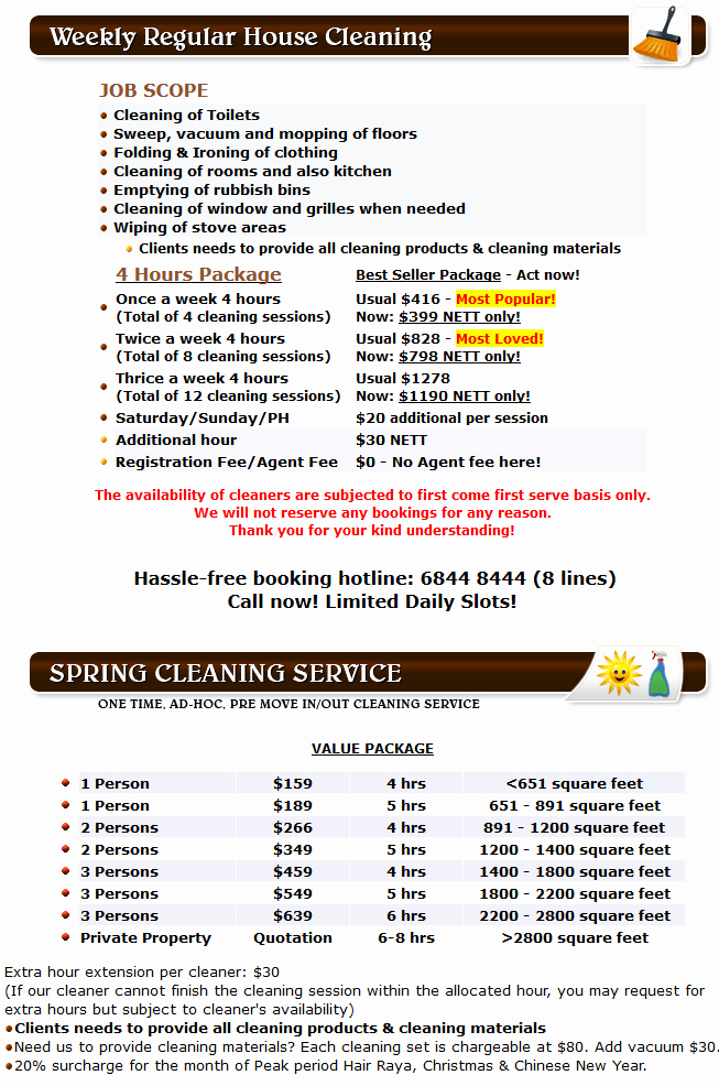 Cleaning Services Prices List Lovely How Much Does Fice Cleaning Cost In Singapore