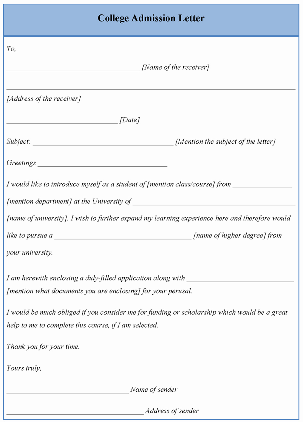 College Acceptance Letter Sample Best Of Letter Template for College Admission Example Of College