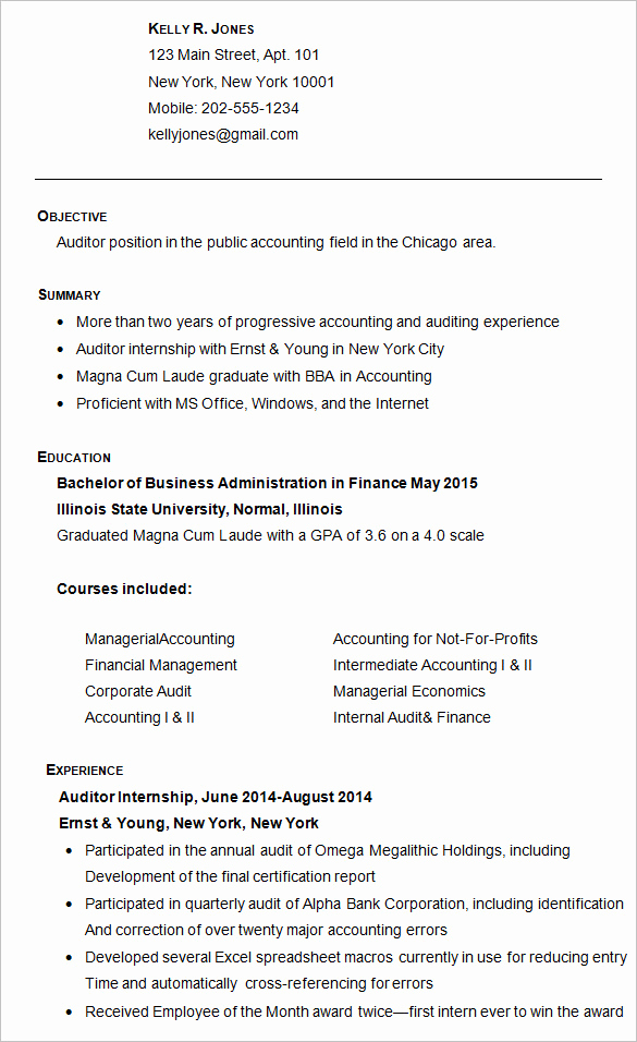 College Applicant Resume Template New College Resume Example